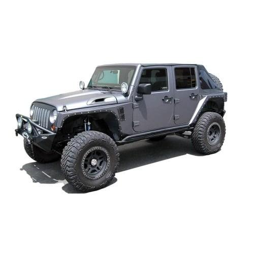 Jeep Wrangler Color Change Wrap Houston