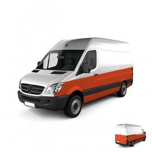 Cargo Van Partial Graphic Wrap