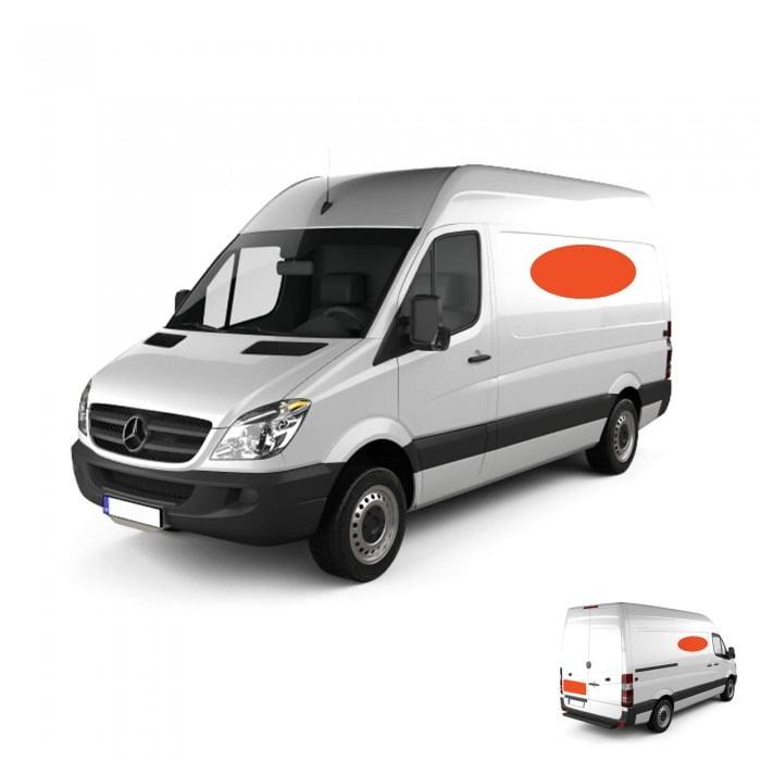 Cargo Van Spot Graphic Wrap
