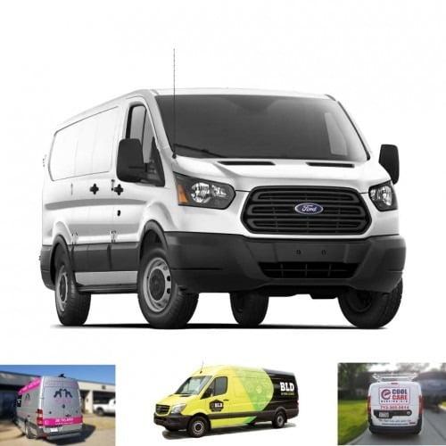 Full Ford Transit Cargo White Van