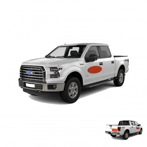 Pickup Truck Spot Graphic