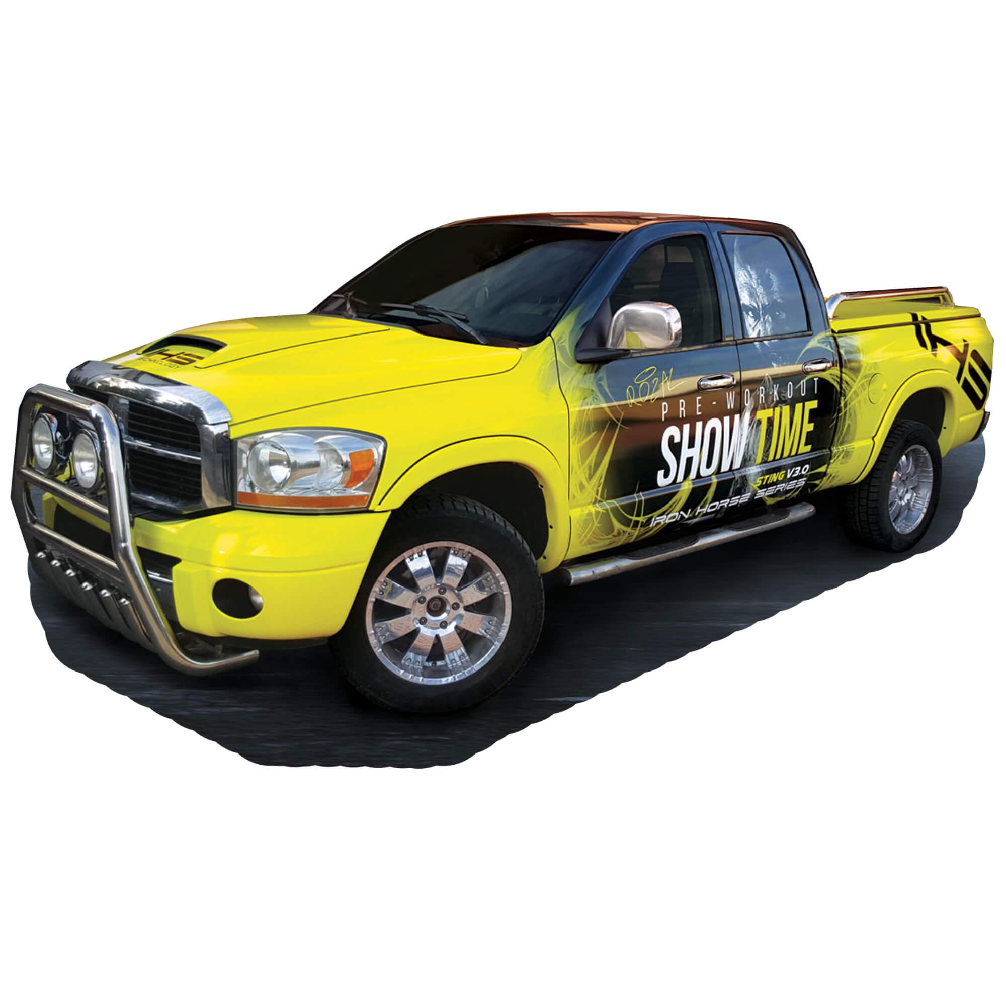 Ram Graphic Wrap Dodge Pickup Truck