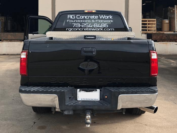 Spot Graphic Wrap Pickup Truck Houston TX