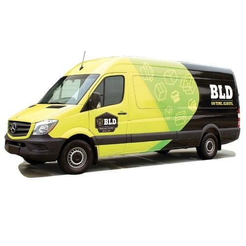 Sprinter Graphic Wrap Mercedes Cargo Van