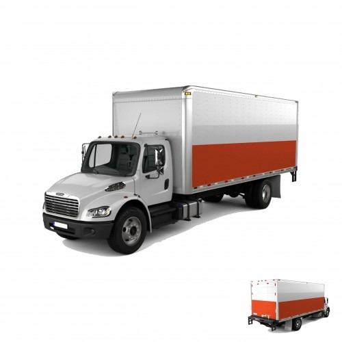 Truck Partial Graphic Wrap