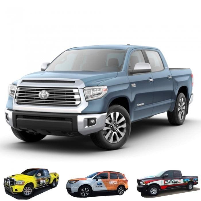 Tundra Graphic Wrap Toyota Pickup Truck
