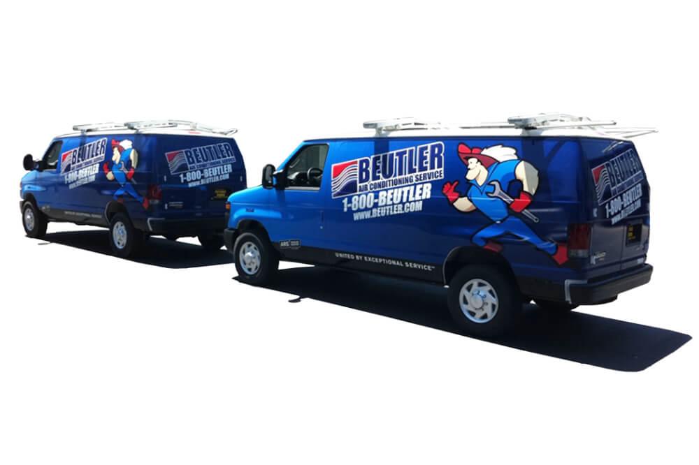 Fleet Van Graphic Wrap Houston