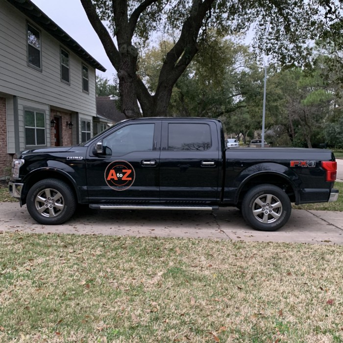 Ford F150 Spot Graphic Wrap