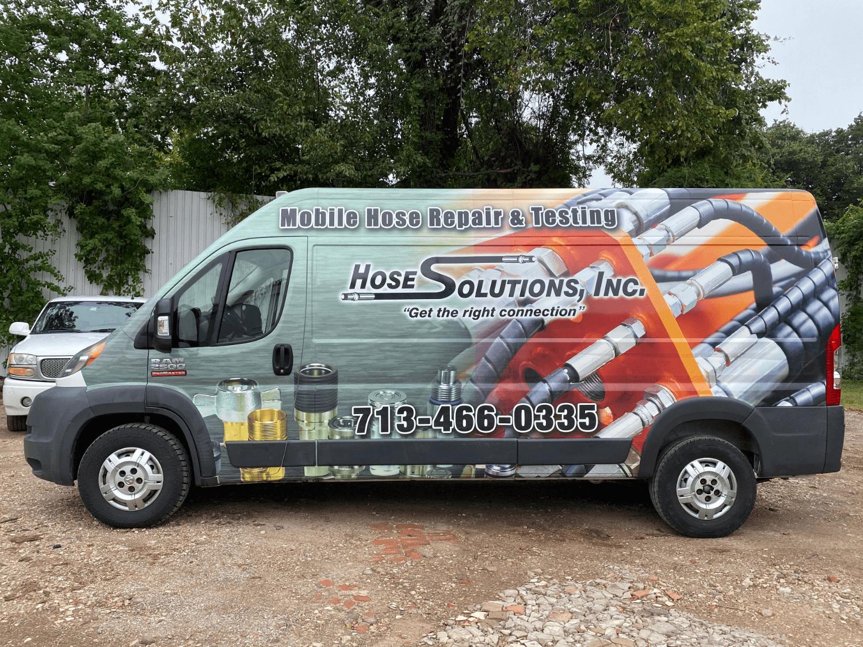 Full Car and Van Wrap Cost Graphics AtoZ