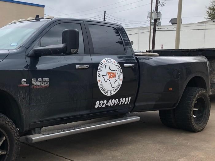 Spot Graphic Truck Wrap Vinyl Houston TX