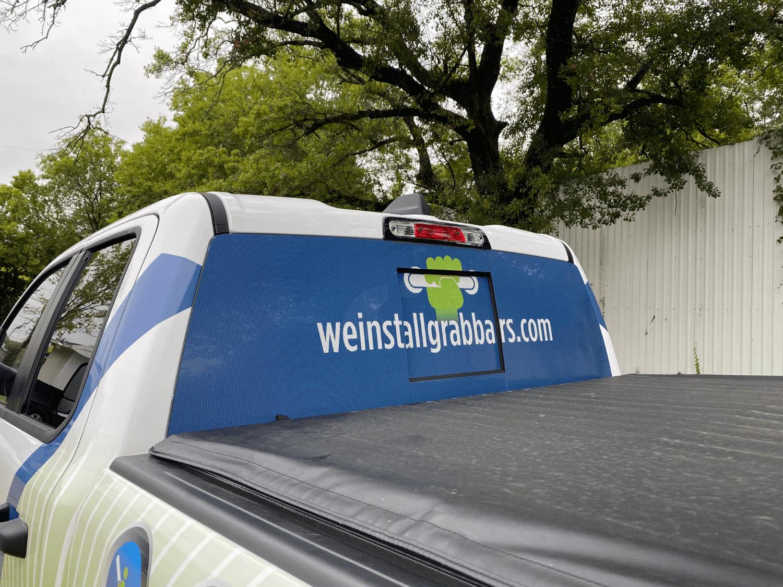 Vinyl Lettering Custom Truck Wrap Houston TX
