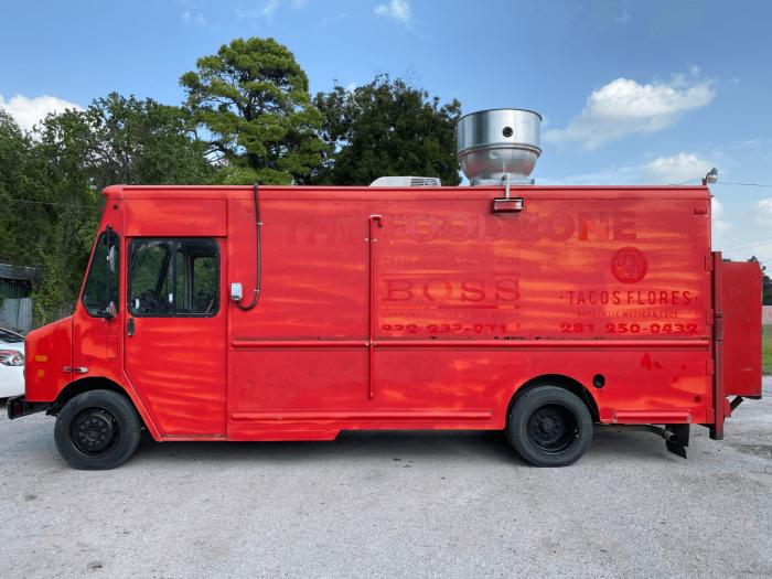 Food Truck Wrap Houston Before Graphics AtoZ