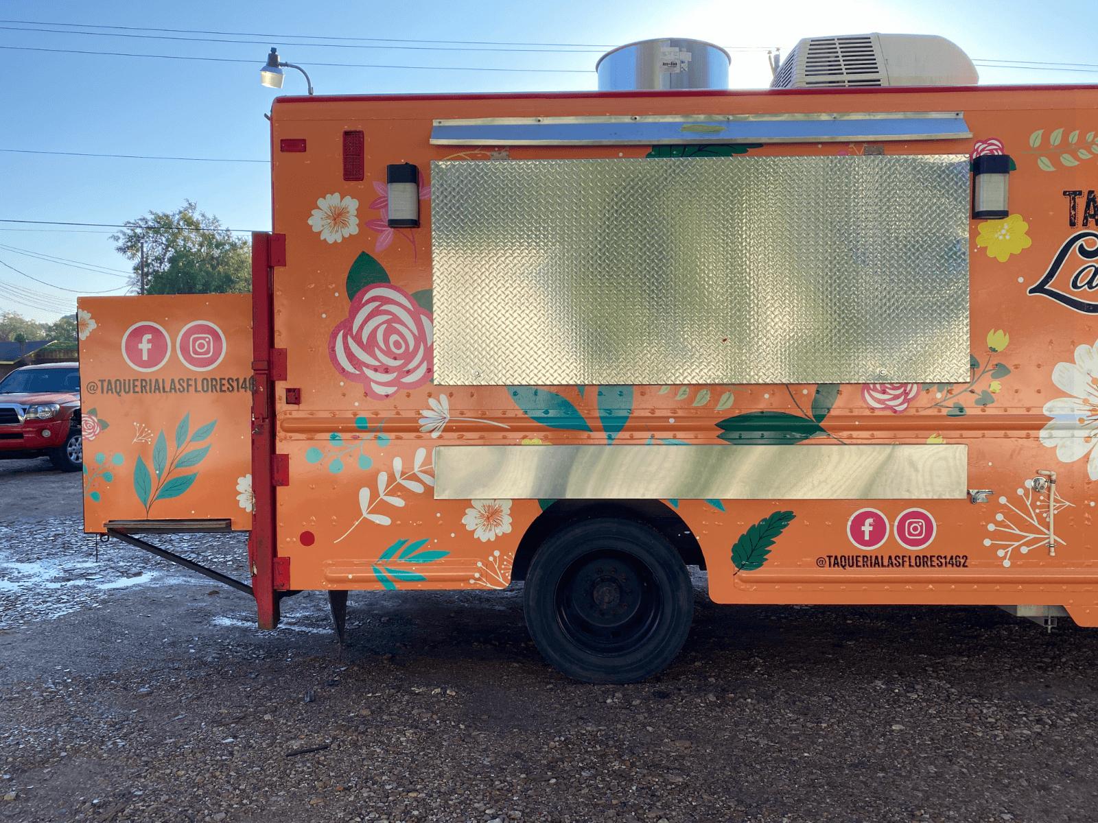 Food Truck Wrap Houston Full Vehicle Wrap