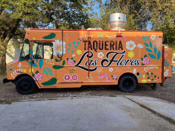 Food Truck Wrap Houston Full Wrap