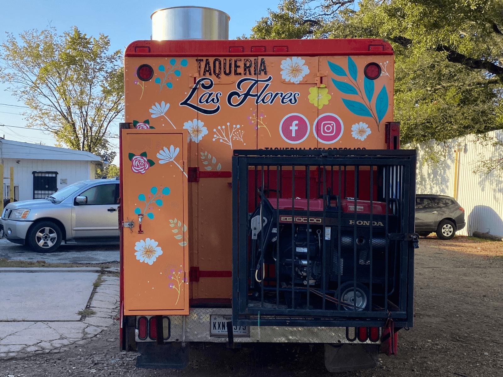 Food Truck Wrap Houston TX Back