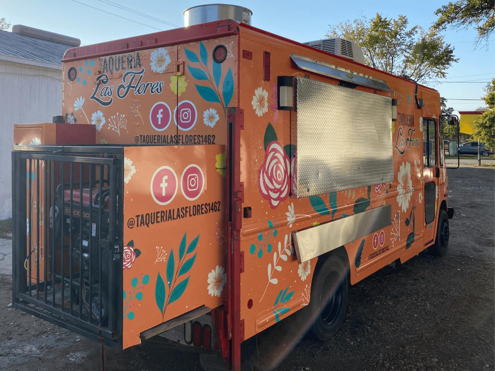 Food Truck Wrap Houston TX Full Vehicle Wrap
