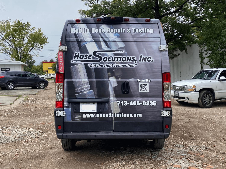 Full Van Wrap Houston TX Graphics